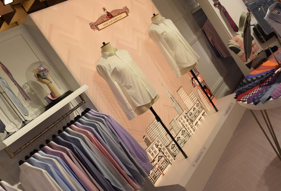 Stand Firenze - Artes Group per Thomas Pink n°3