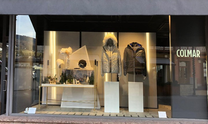 Shop window Milano - Artes Group per Colmar n°0