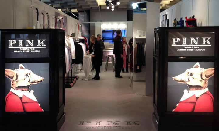 Stand Firenze - Artes Group per Thomas Pink