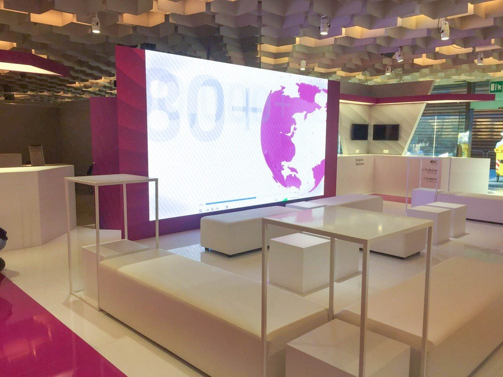 Stand Firenze - Artes Group per Acelity n°1