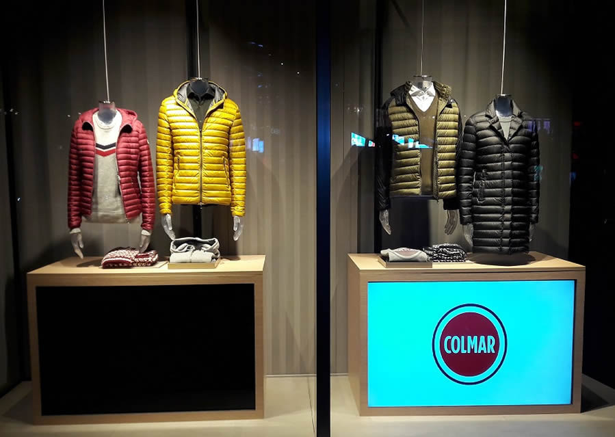 Shop window Milano - Artes Group per Colmar n°4