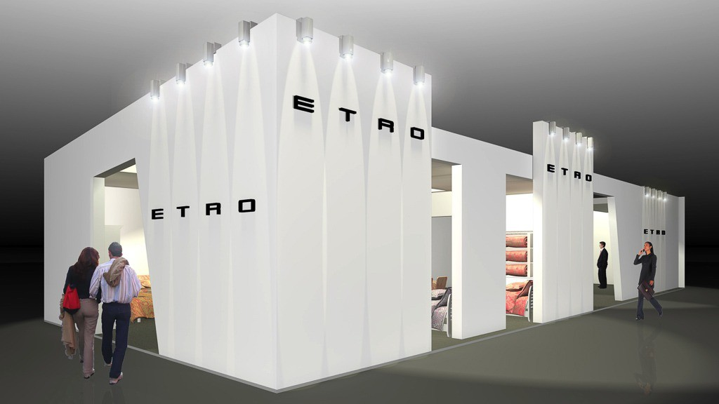 Stand Paris - Artes Group per Etro