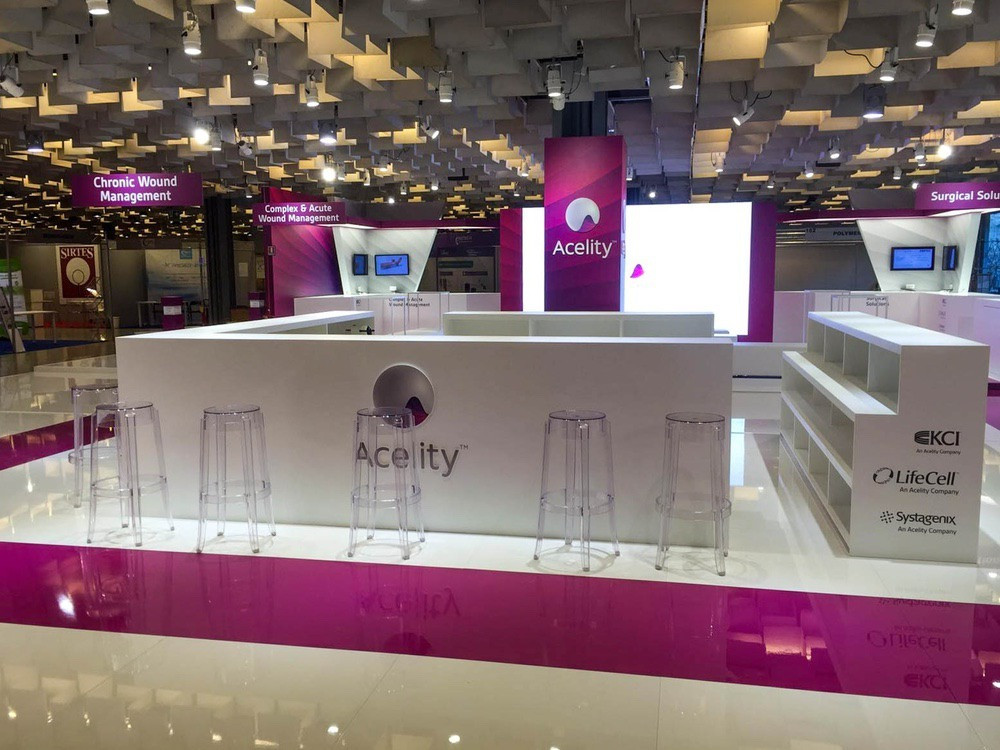 Stand Firenze - Artes Group per Acelity n°2